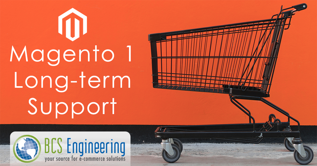 Magento 1 long-term support through June 2020