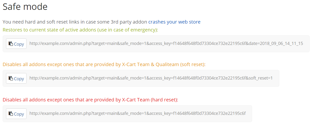 When deploying changes goes really wrong, safe mode can save you!
