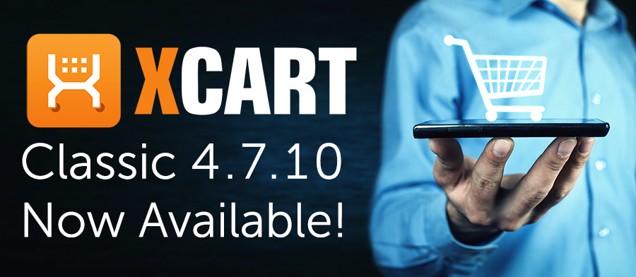 X-cart 4.7.10 has been released! Contact BCSE today for help with your upgrade!